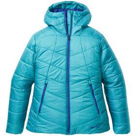 Marmot Warmcube Featherless Felpa Donna, enamel blue